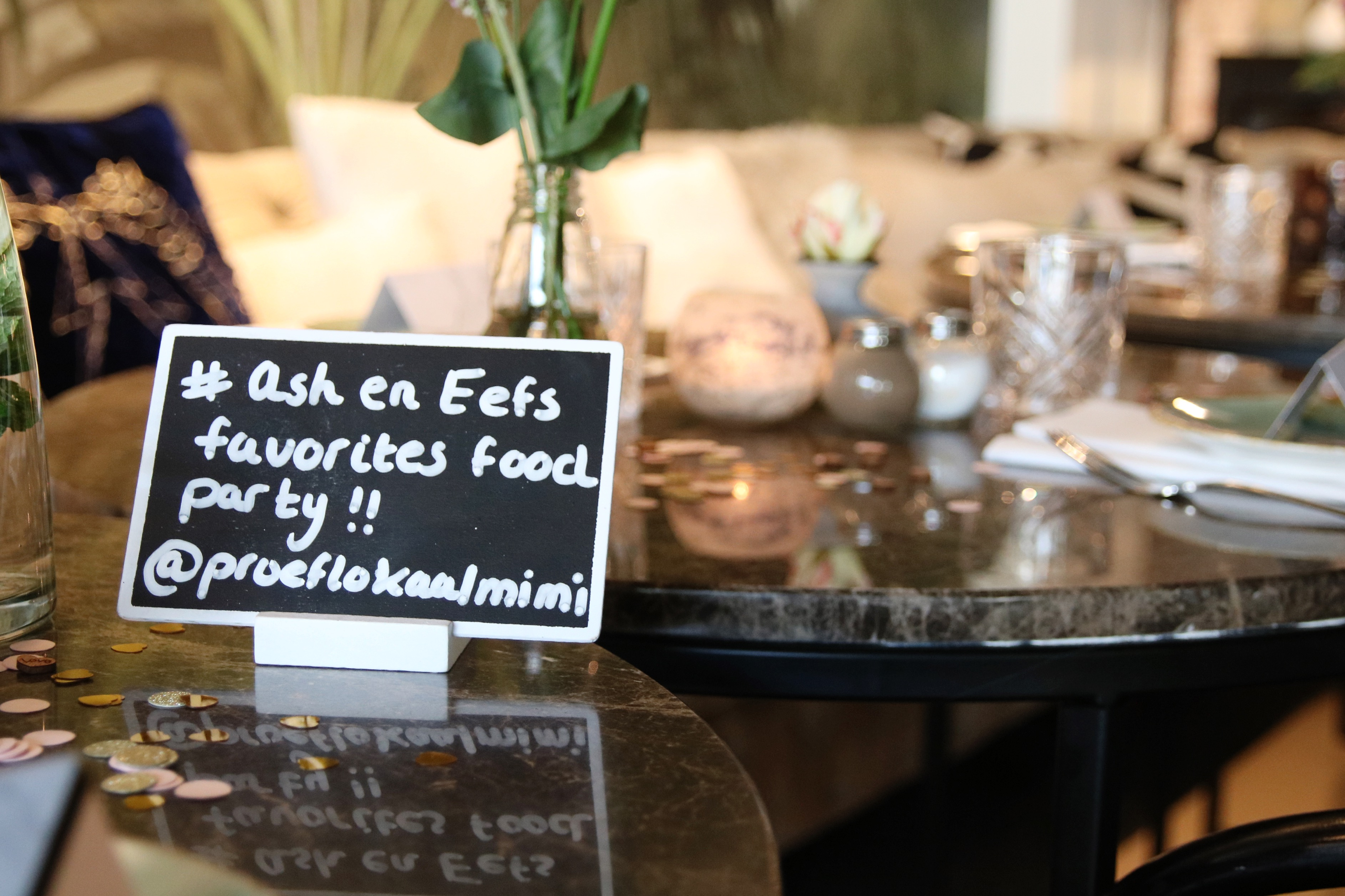 Zo kwam onze 'favorites food party' tot stand!